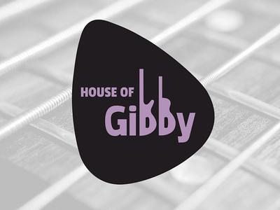 Logo Design for House of Gibby local band logo design band music logo