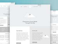 DMA Homepage Wireframe
