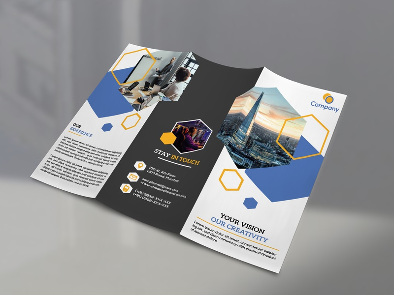 tri fold brochure by innovative clique dribbble dribbble
