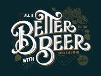 All is Better with Beer