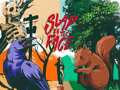 Slap in the face cover album