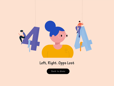 404 Page Animation animation design animation 404 error page 404 error 404page 404 website website design vector illustration