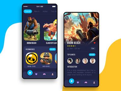 Game Play Store game app game designer ux app concept app designer playstore game design game dribbble app development app design design ui