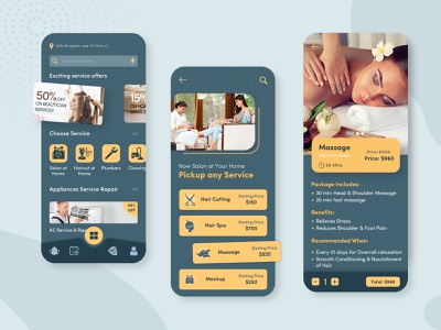 Home Service Application app developers services app home services uiux ux design ui design app designers app developer ui designer dribbble app app designer ux app concept app development app design design ui