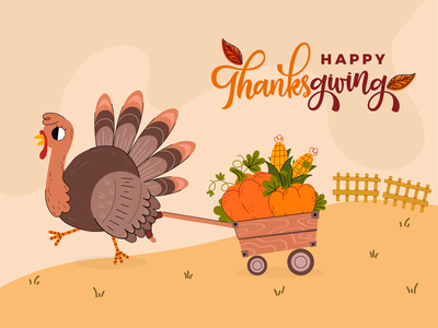 Thanks Giving designs dribbble user experience design illustration design illustraion banner design happy thanksgiving thanksgivingday2020 thanksgiving thanksgiving day