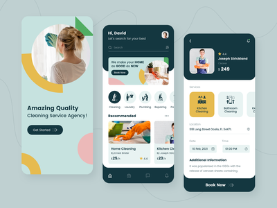 Home Cleaning App Design home ios laundry service cleaningappdevelopment userinterface userexperience uiuxdesign app developers app designer app concept app development app design design ui repairingapp homeserviceapp appdesign cleaningapp cleaning