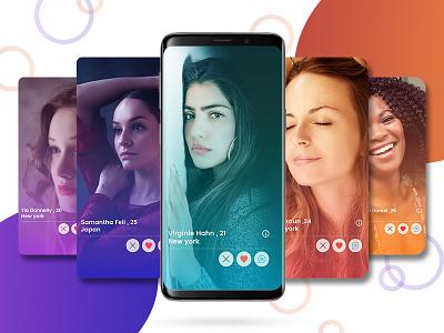 Dating App UI ui designer ui desgin app designers india app designers dating app app concept app development app app design creation dribbble design ux ui