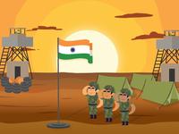 Republic Day India Illustration Art