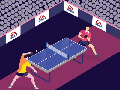 Table Tennis Illustration ping pong illustration design art ball table tennis illustrate illustration agency illustration art illustrator illustraor illustraion illustration dribbble creation design ui