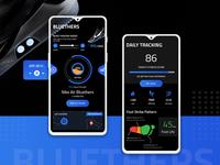 App UI Concept For Smart Shoes