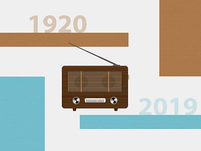 World Radio Day Evolution concept creation ux design radio day music artist music animacion animation design animation art animation animate evolution ui radio station radio show radio