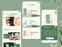 Cosmetic eCommerce App UI