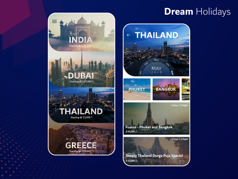 Travel Booking App world greece dribbble design  front-end  back-end design agency travel agent app branding app designer travel app thailand dubai india travel guide tour guide app concept app app development app design design ui