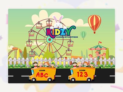Kids Learning App education learn education app learning app kids art kids app app designers animation design app concept animation app app development app design design ui