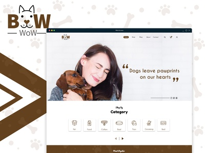 Dogs Shopping Website