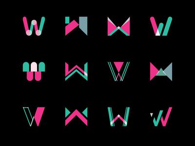 Letter W Logo/Icon Set