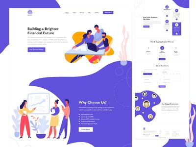 Finance Loan Website