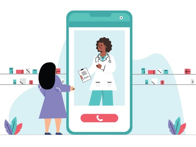 Doctors Day Illustration feature video call photoshop art sketches illustrations medicine app hospital doctor app illustrator illustration art illustration doctor app designer app concept ux app development app design design ui