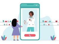 Doctors Day Illustration