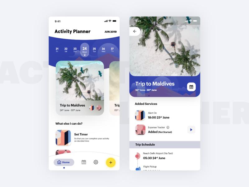 Travel Activity Planner App