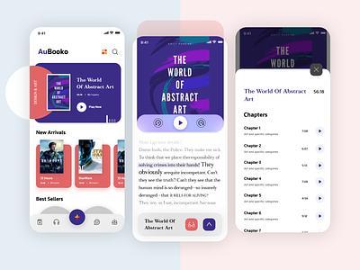 Audiobook App new books reading list reading app adobe photoshop adobe xd books audio player audiobook app designer app concept app app development app design design ui