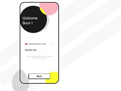Code Verification Animation ui designer illustration code animation verification app designer app app concept app development app design design ui