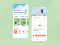 Adventure Sports Booking App Design