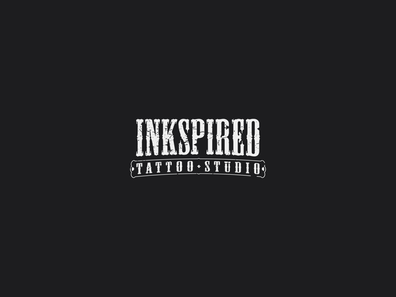 3dcc17d66 Inkspired ~ Tattoo Studio by alpharhodes on Dribbble