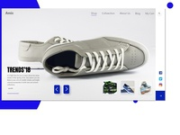 Online Shopping Landing Page (Amic)