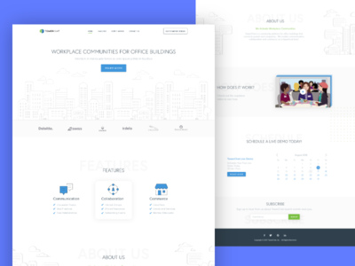 TowerChat Landing Page ReDesign