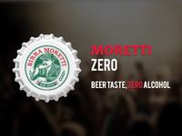 Moretti Zero - Beer Advertising
