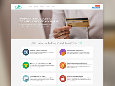 E-Commerce selling page