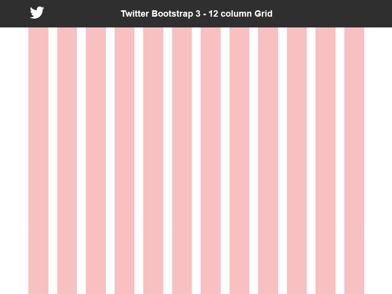 Bootstrap 3 Grid 12 Column Free Psd By Salvatore Mezzatesta On Dribbble