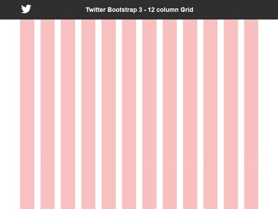 Bootstrap 3 Grid - 12 Column - Free PSD bootstrap grid bootstrap twitter grid 12 column grid system grid template website responsive