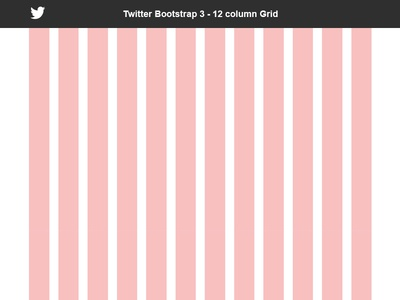 Bootstrap 3 Grid - 12 Column - Free PSD