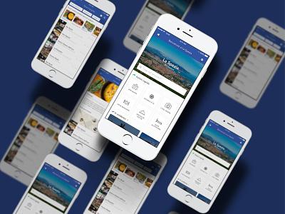 Mappy Food UI Screens ui ios iphone app store food app app design user experience user interface