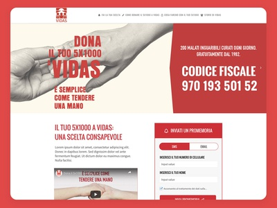 Pre-Tax Donation Landing Page