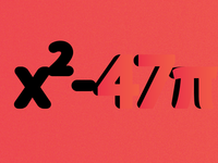 x²-47π