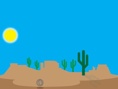 "Recreating Google's ""no activity"" message landscape nature illustration logo graphic design illustrator desert no activity google"