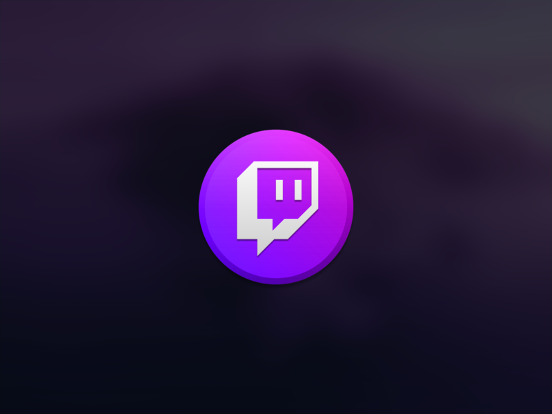 Twitch Studio, Catalina Edition catalina twitch studio twitch logo twitch glitch icon