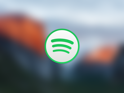 El Capitan/Yosemite Spotify Icon el capitan icon spotify yosemite