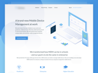 Hero SaaS Mobile Device Management