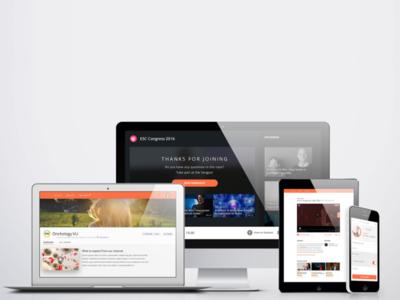 VivindaTV ui design ux design responsive web design experience design ux webdesign graphicdesign interface branding ui