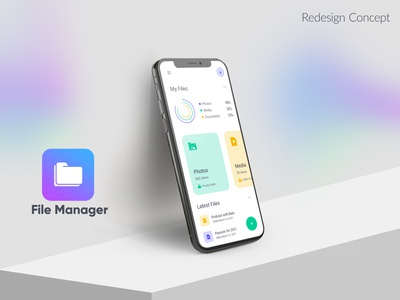 File Manager Redesign Concept