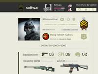 Softwar - User profile