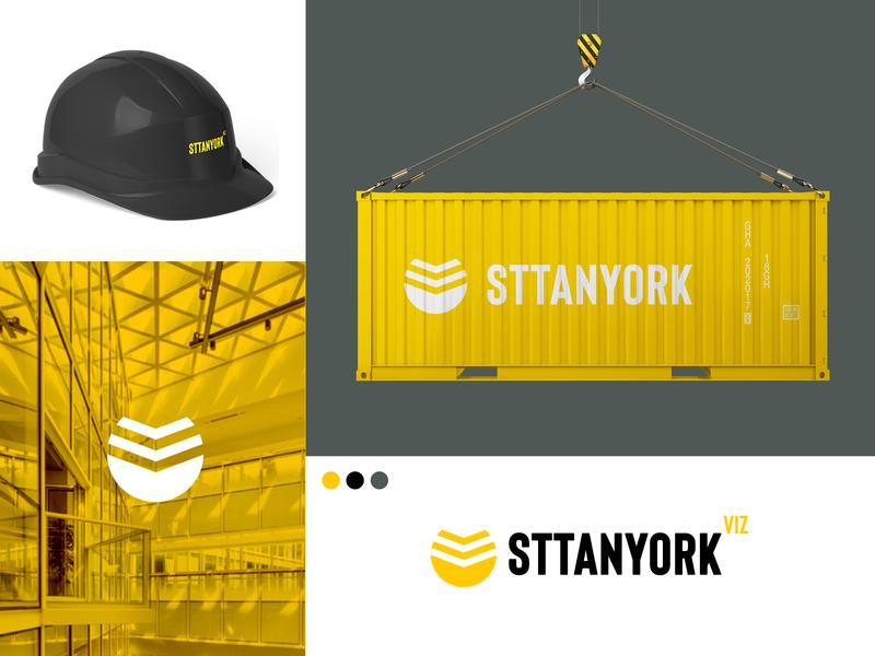 Sttanyork - Identity Design symbol graphic design brand identity logo design logomark debut brand design minimal flat visual identity visualization icon logo branding design