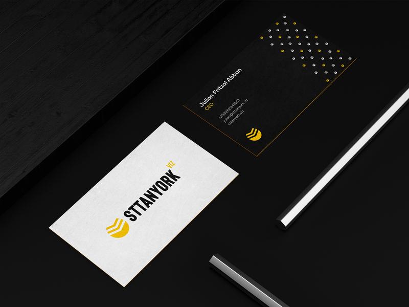 Sttanyork - Identity Design logo illustration visual identity logomark logo design graphic design design branding brand identity brand design