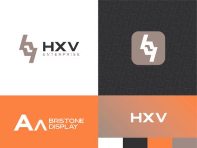 HXV - Brand Identity Proposal logodesign brandidentitydesign business concept logo brandwithtnf brandidentity brand