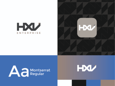 HXV - Brand Identity Proposal proposal concept logodesign logo brandwithtnf brandidentity brandidentitydesign brand