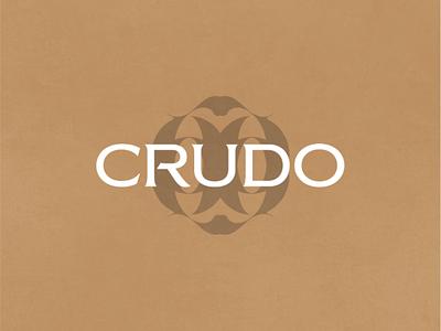Crudo - Brand Identity logos brandidentity logo logomark brandmark brand